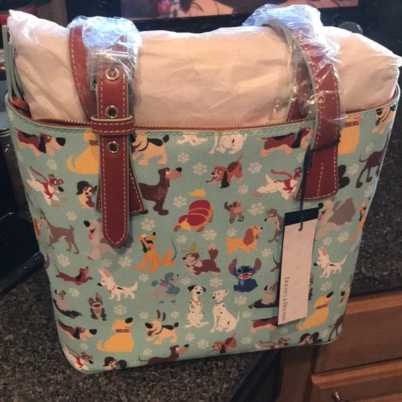 c090b83616 Dooney   Bourke Handbags - Dooney   Bourke Disney Dogs Tote Bag Purse